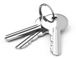 silberne Schlüssel